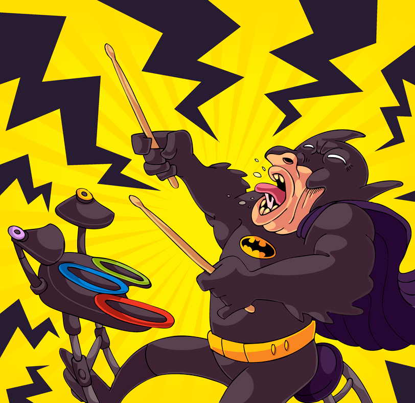 http://rysownik.com/en/illustration/batman-drumming-solo/