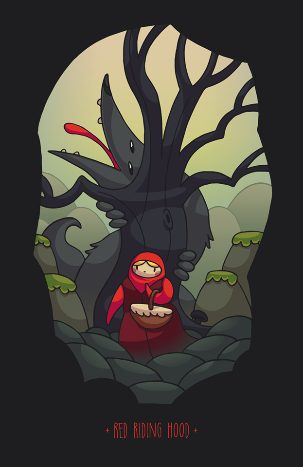 http://rysownik.com/en/illustration/red-riding-hood/